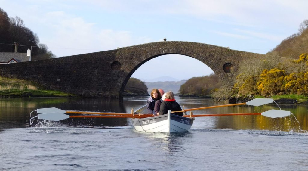 Seil Coastal Rowing Club will be helping complete the Argyll stretch of the relay route.