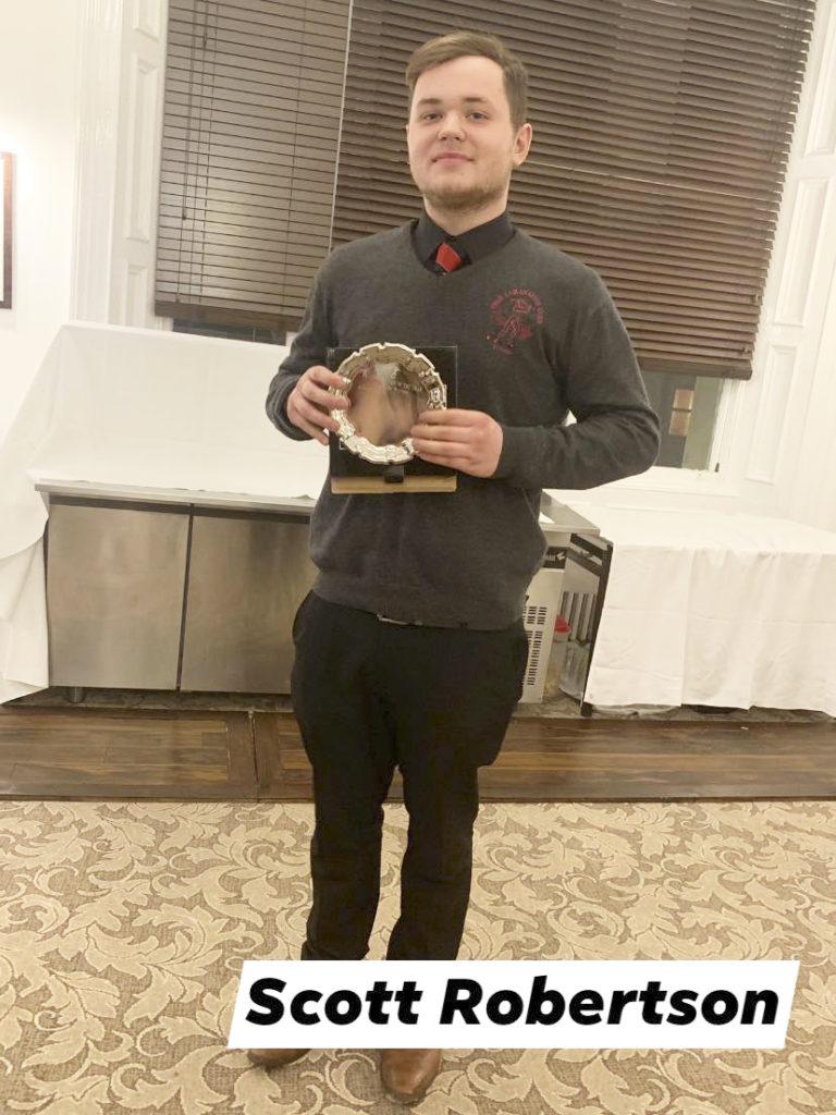 Lochside Players' Player of the Year – Scott Robertson.