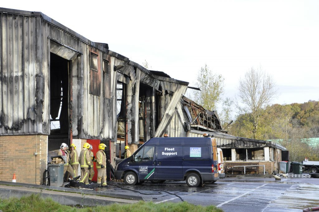 Council to benefit from £1.4 million depot three years after blaze