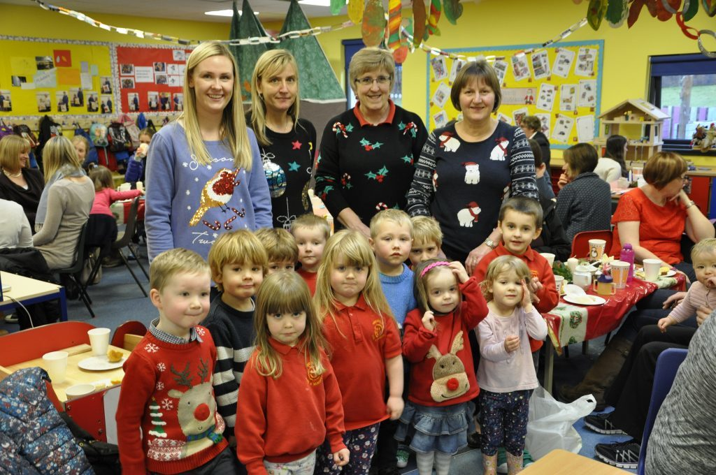 Hope At Christmas.Nursery Tots Give Hope At Christmas The Oban Times