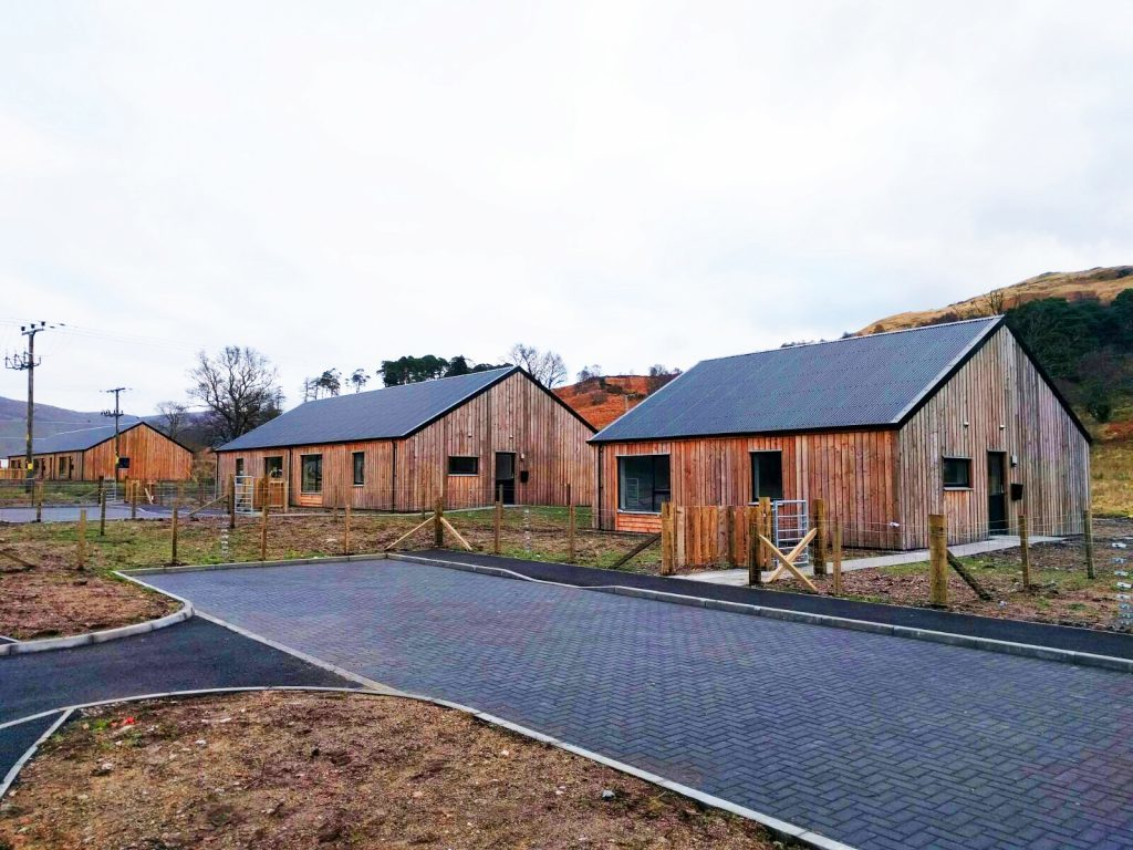 Strontian community welcomes six new homes