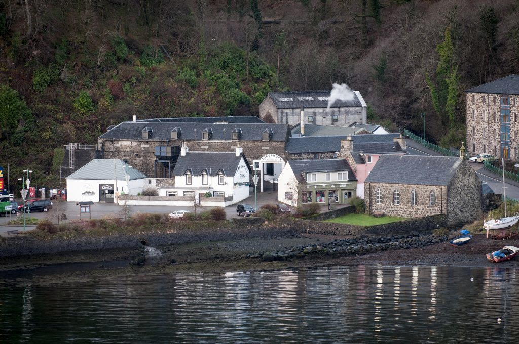 Fears for jobs at Mull distillery