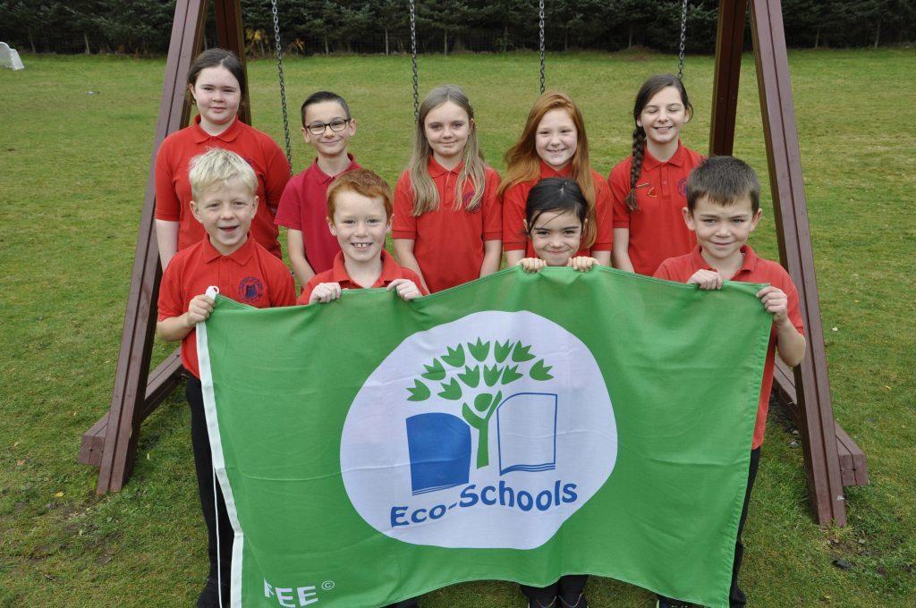Dunbeg pupils earn sixth green flag