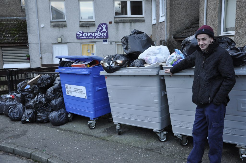 Bins collections remain in 'chaos'