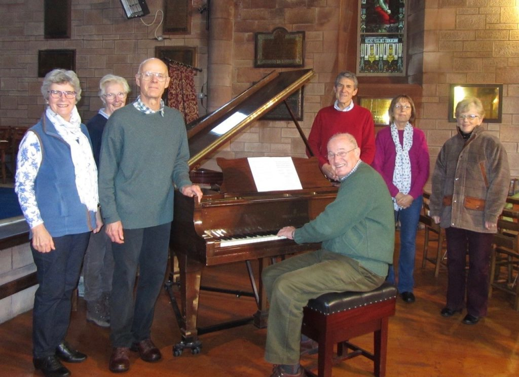 Grand gesture for piano appeal