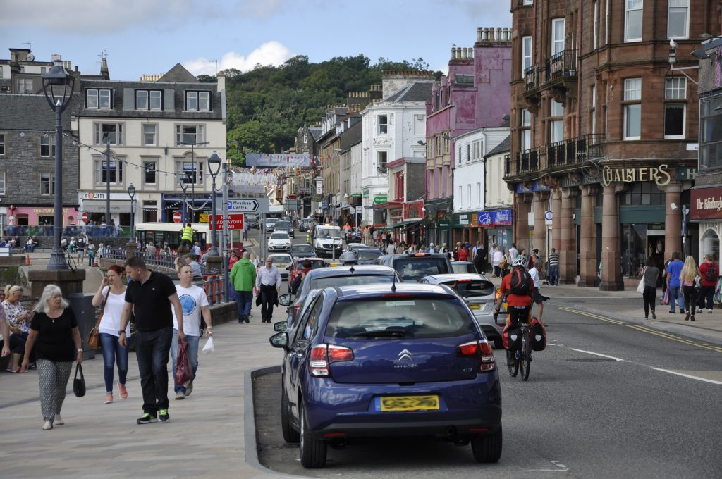 Green light for new Oban parking charges