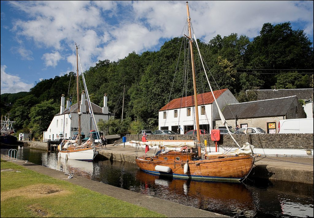 Property For Sale Crinan Canal
