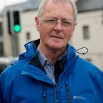 Councillor Allan Henderson at the mini roundabout/Traffic lights, inverlochy junction.PICTURE THE WRITE IMAGE