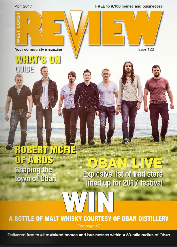 The April issue of West Coast Review is out now