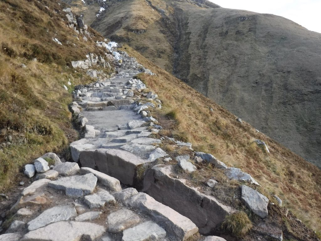 Ben Nevis path works are complete