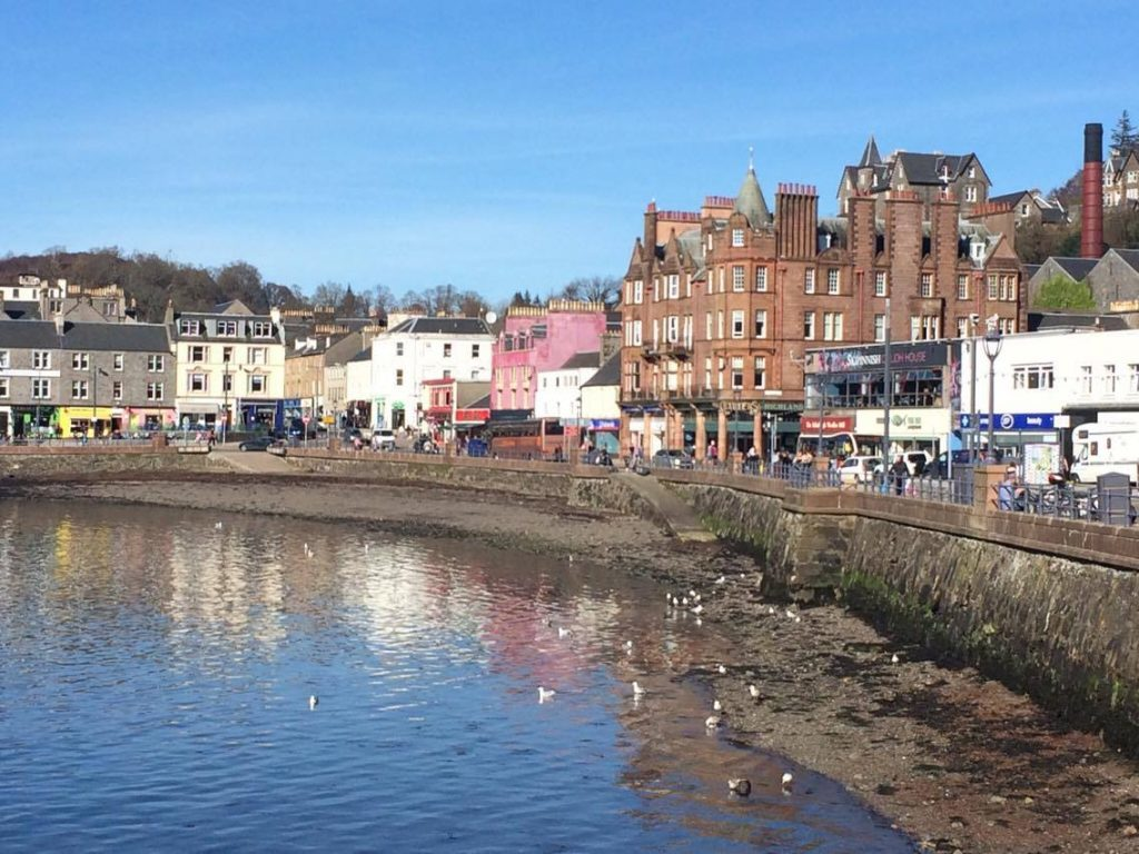 Oban in top 10 most searched locations in Scotland
