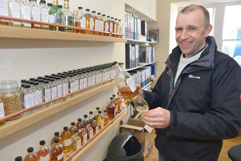 Distillery manager going from strength to strength