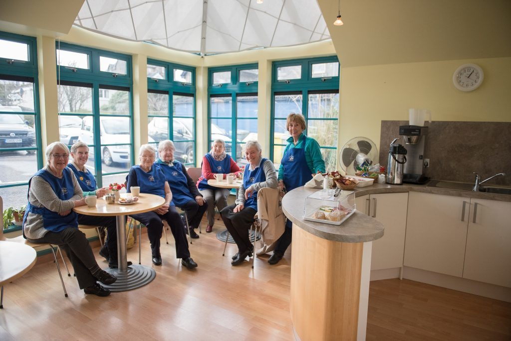Connel surgery coffee shop back in business