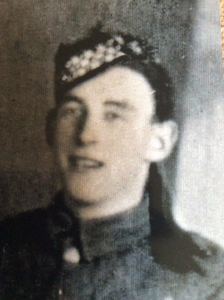 Tribute to a fallen Oban soldier 100 years on