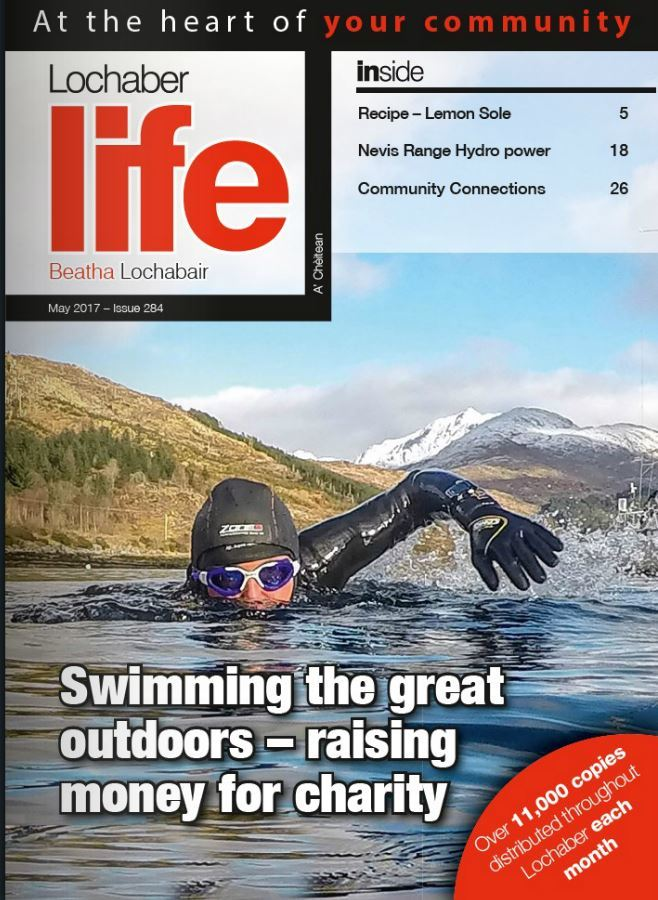 The May issue of Lochaber Life