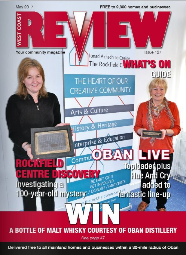 The May issue of West Coast Review