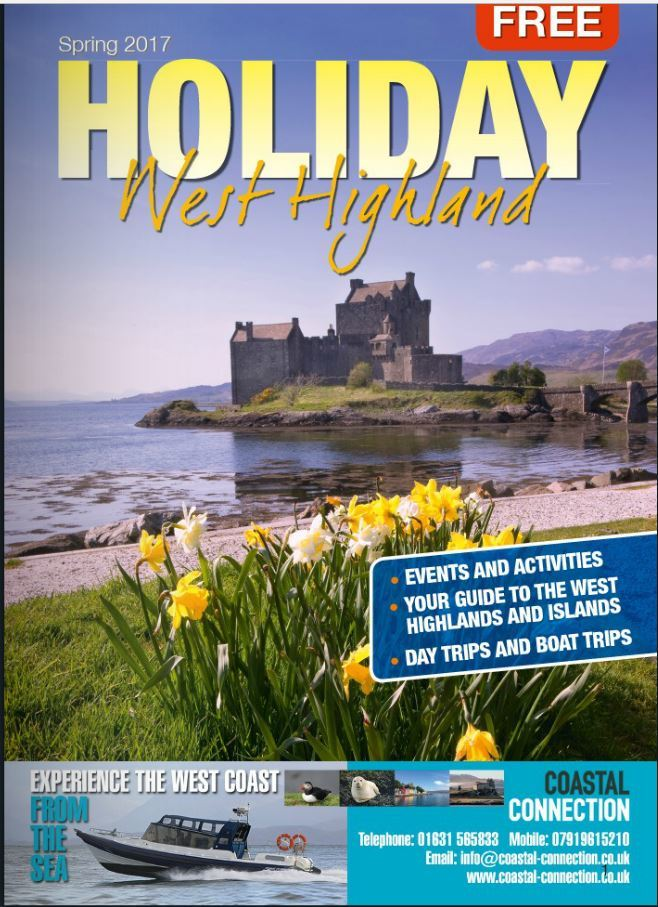 The Spring issue of Holiday West Highland is out now