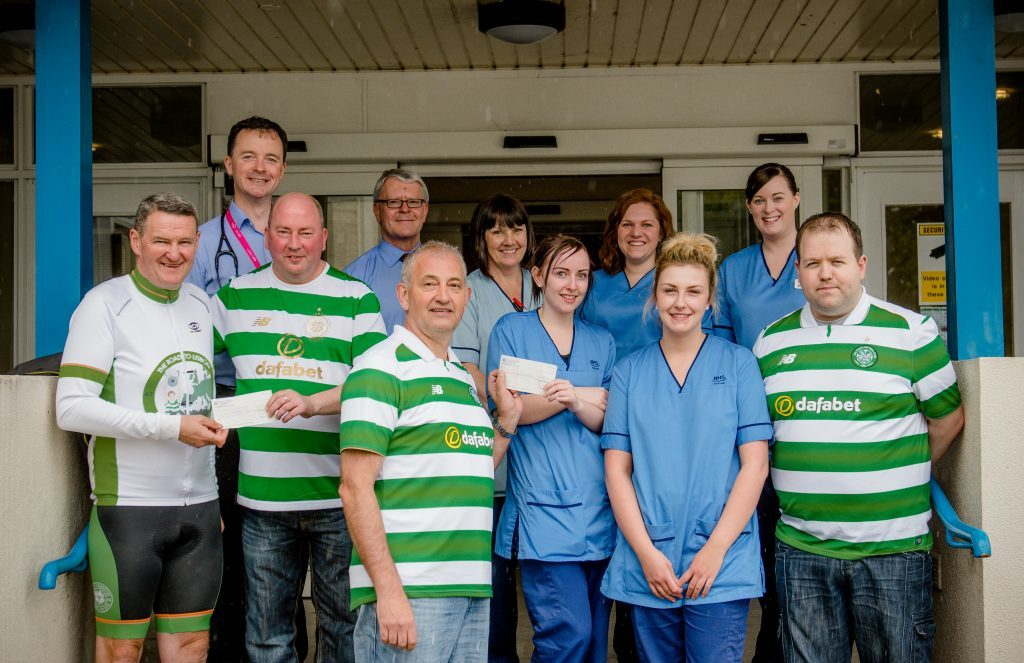 Celtic club donate to Lochaber causes