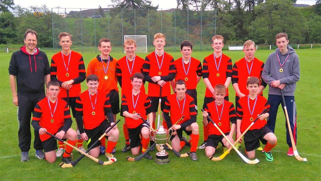 Lochaber High win MacPherson Cup at the Dell