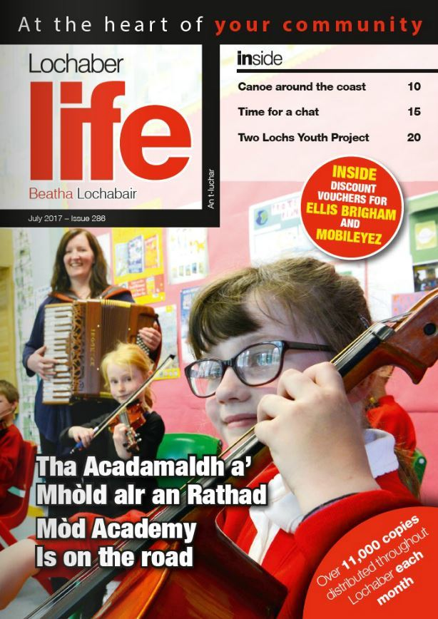 The July issue of Lochaber Life is out now!