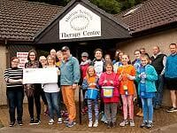 MS Centre cashes in on walk