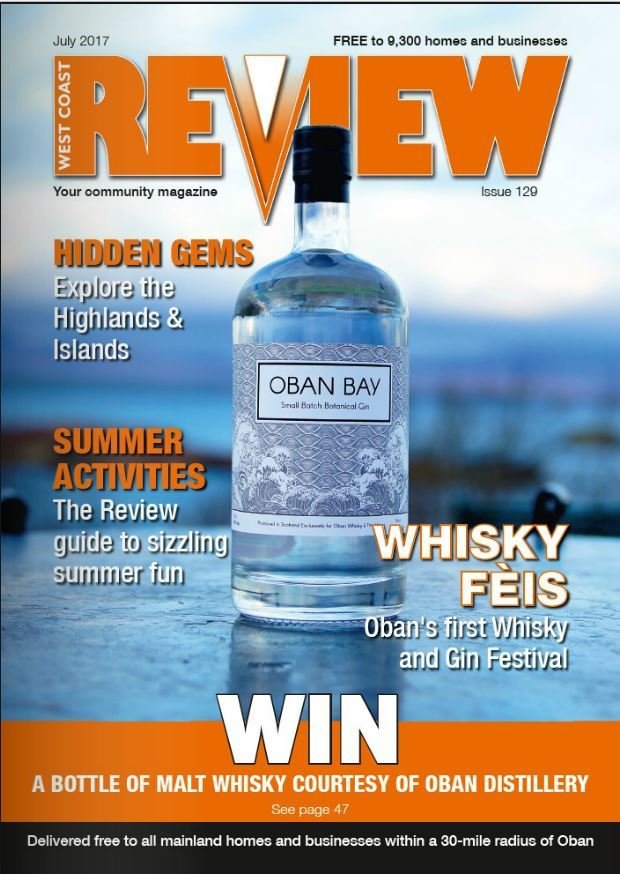 The July issue of West Coast Review is out now!