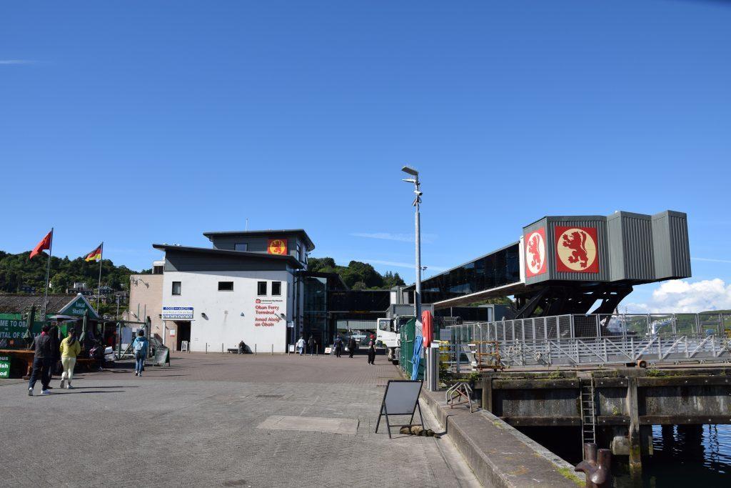 Work starts to upgrade Oban ferry terminal