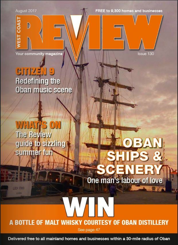 The August issue of West Coast Review is out now!