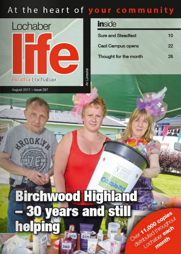 The August issue of Lochaber Life is out now!