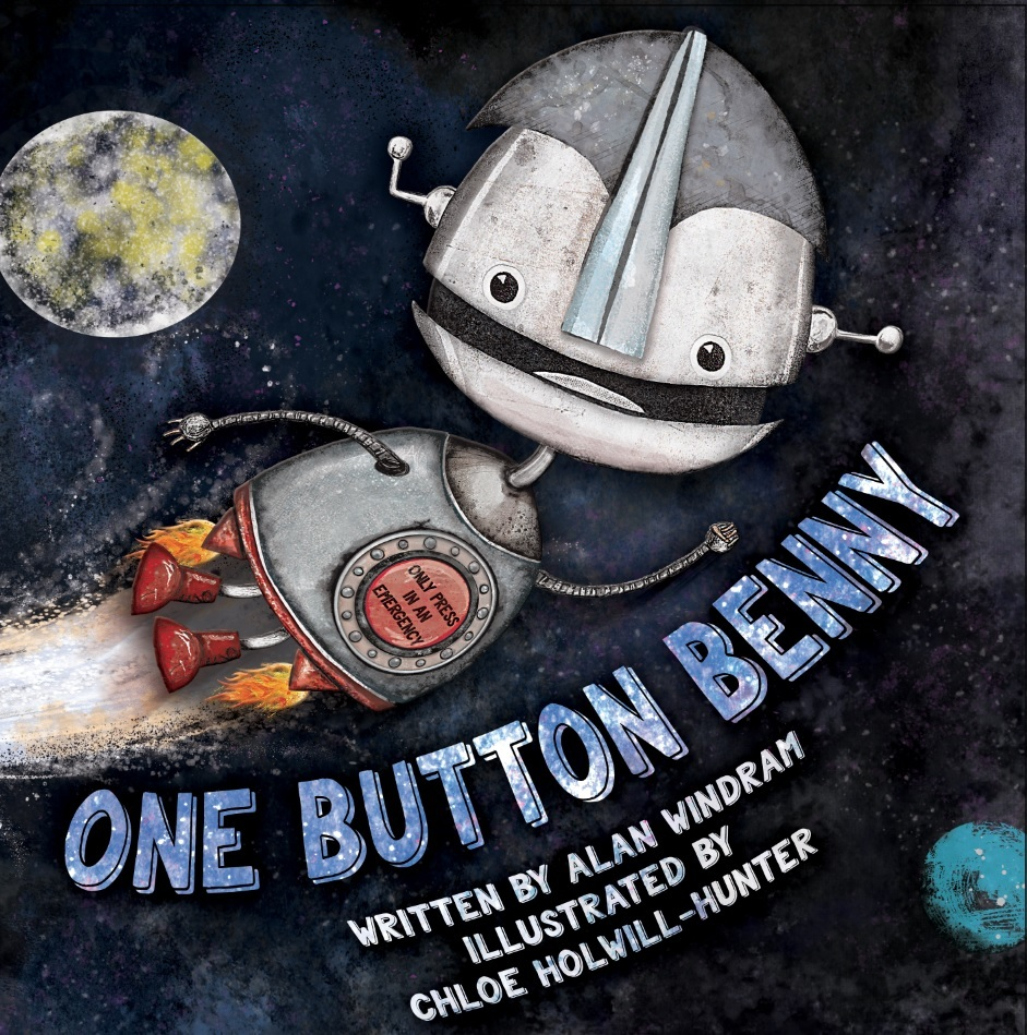Robot fun with One Button Benny at Waterstone's