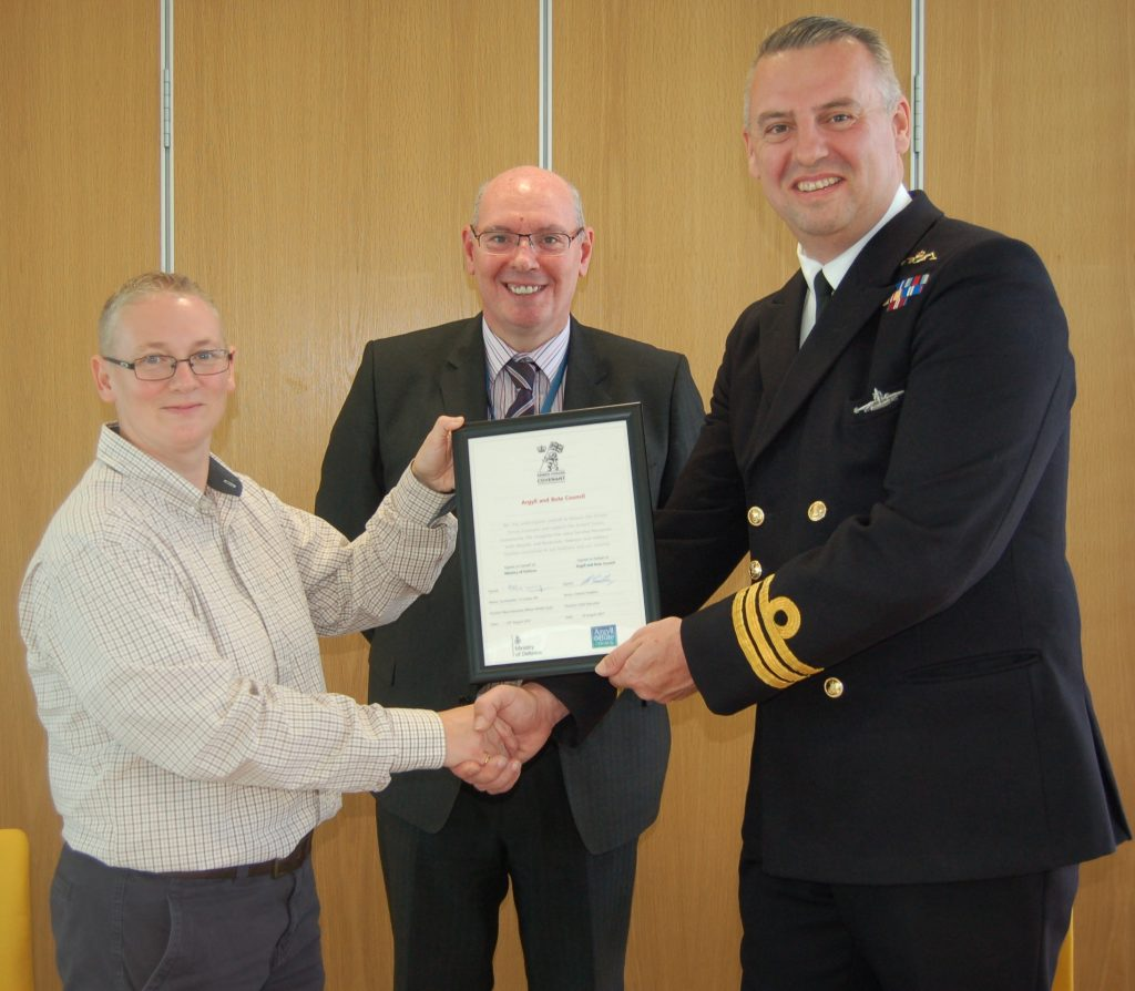 Council makes commitment to armed forces