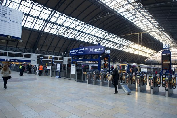 Track work will affect Glasgow train route