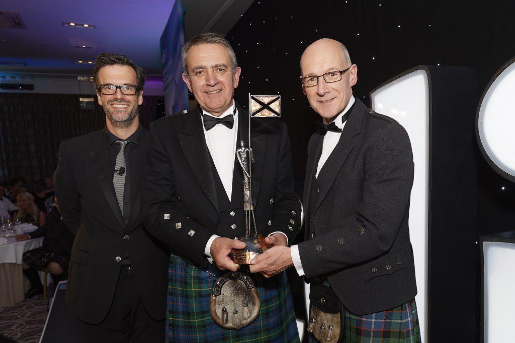 Marine Harvest scoops international business award