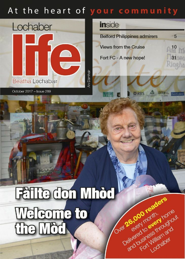 The October issue of Lochaber Life