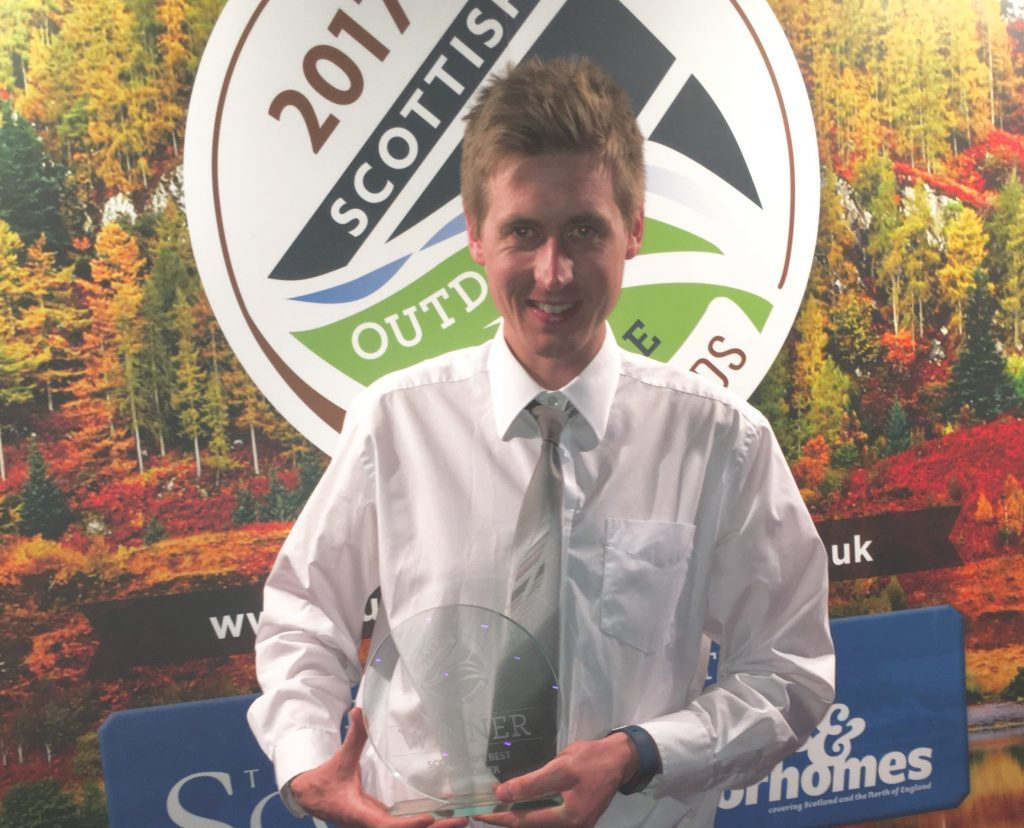 Mull entrepreneur voted best newcomer in national competition