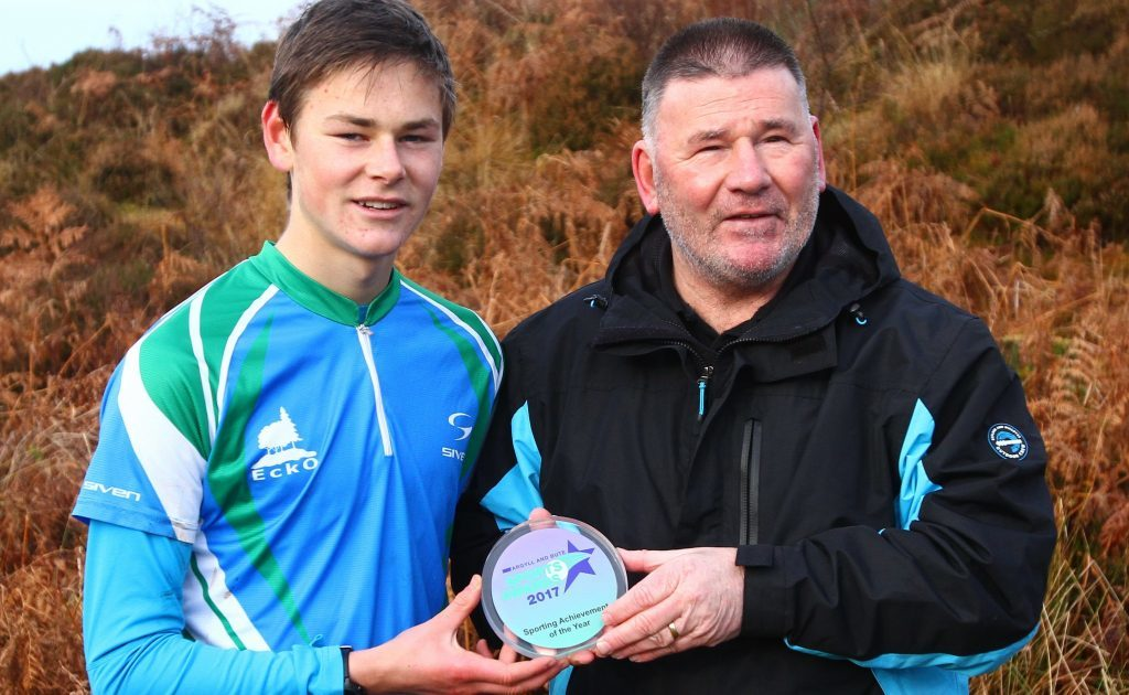Argyll youngster receives Sporting Achievement of the Year Award