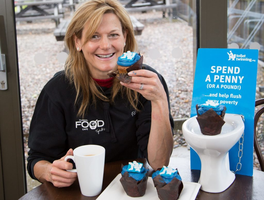 Tyndrum cafe aims to flush away consumerism