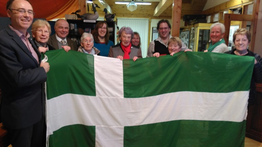 Barra's flag has been officially recognised