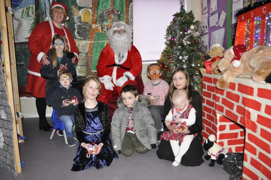 Santa helps to raise £286 at Soroba's grotto