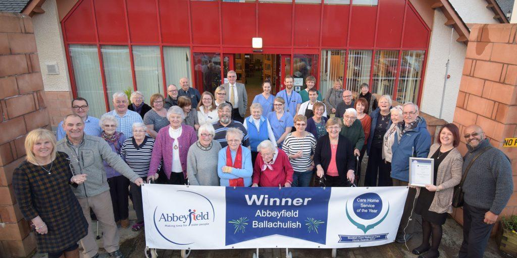 Ballachulish care home celebrates national award
