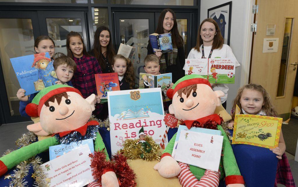 Caol schools celebrate national book week