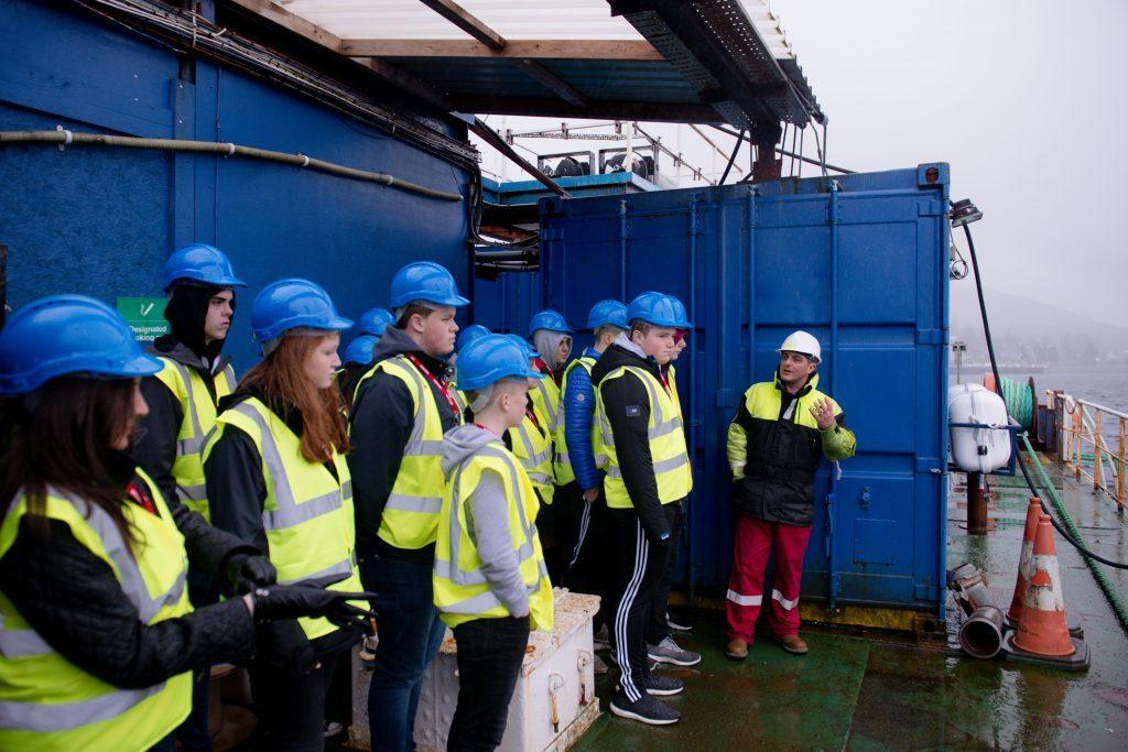 Lochaber firms inspire Mallaig students