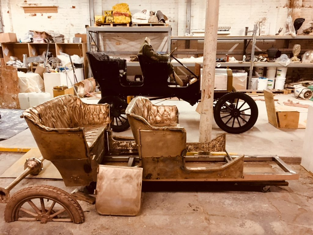 Fort William's 'Bronze Ford' hits production line ahead of spring unveiling