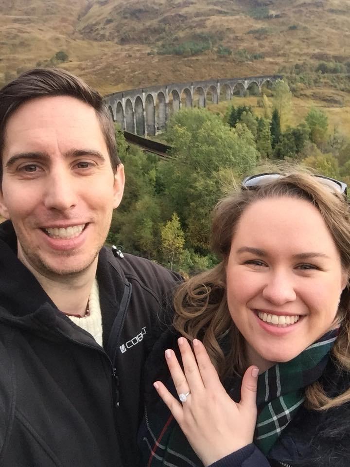 'Hogwart's Express' delivers magical proposal for Sophie