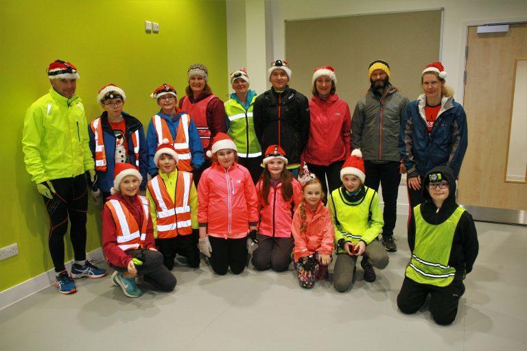 Festive fun as athletics club holds Santa Run