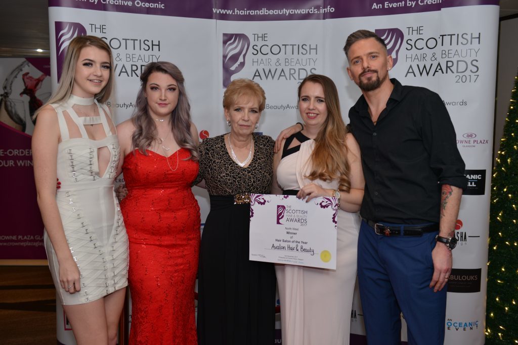 Argyll and Highlands beauty experts honoured
