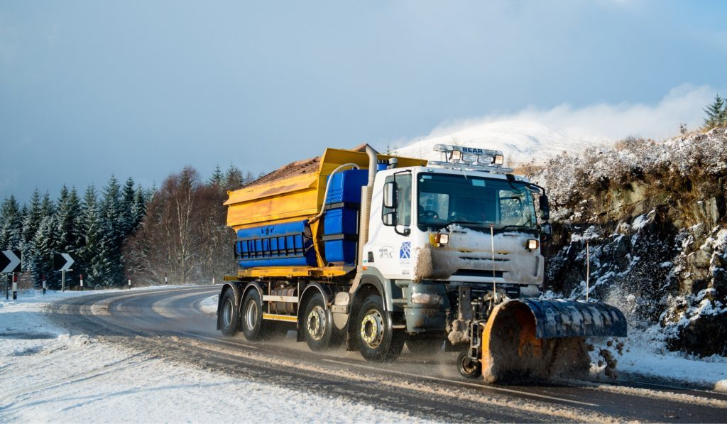 Changes to weekend gritting on Lochaber roads