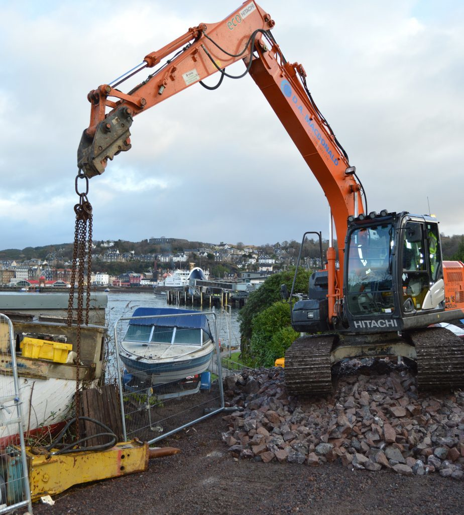 Oban lifeboat's new pontoon is due to open