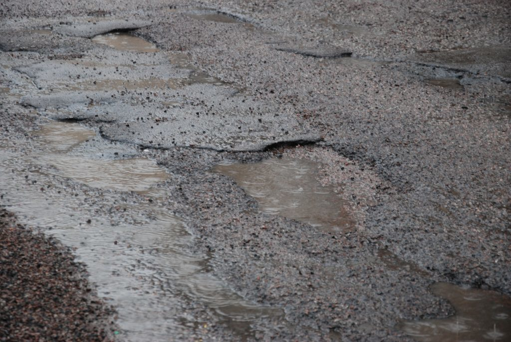 Repairs funding approved for deteriorating roads