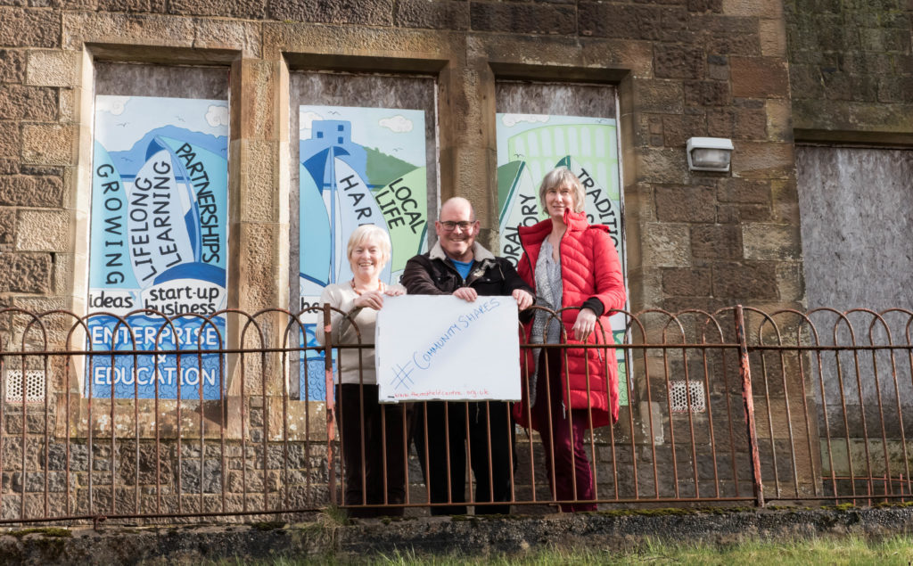 Community shares in Rockfield Centre are a first for Oban